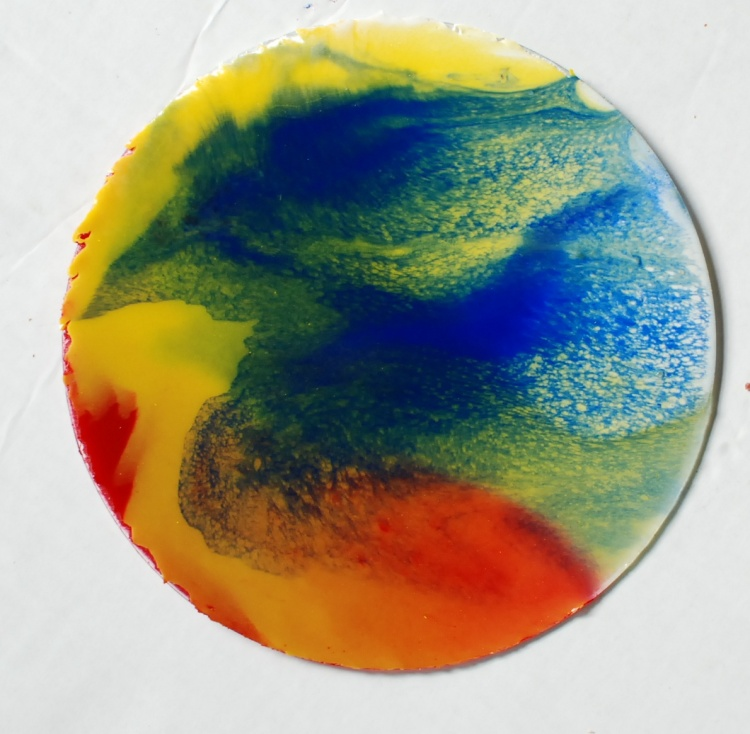 oil on glass its magic